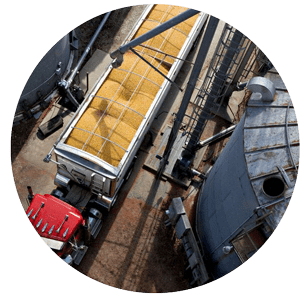 Inefficient Grain Flow For Dryers Or Load Out